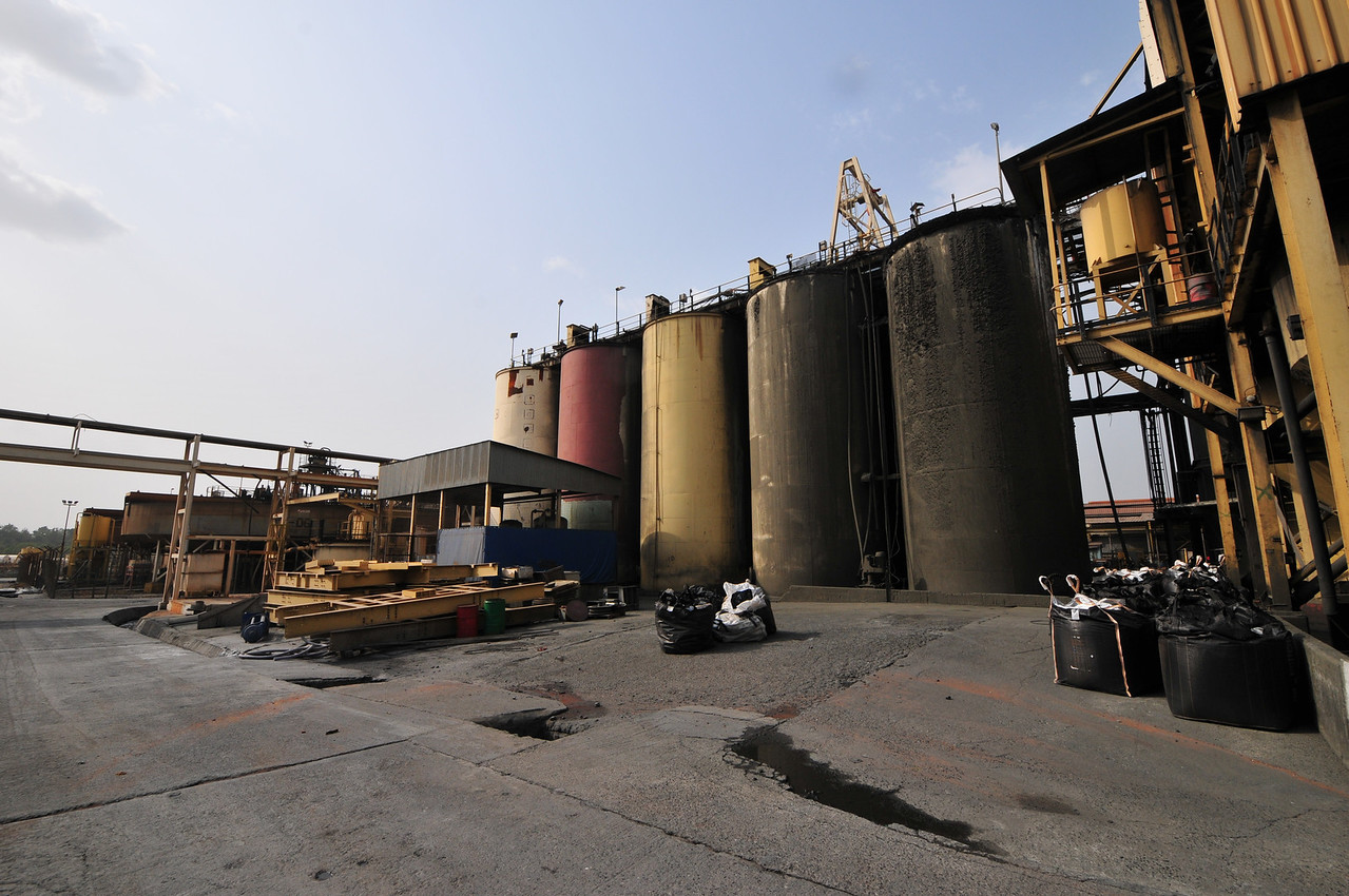 Dsc 6236@120127 - Ghana - Obuasi - Processing Plant