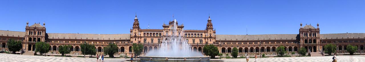 Plaza Espana in Sevilla, Spain