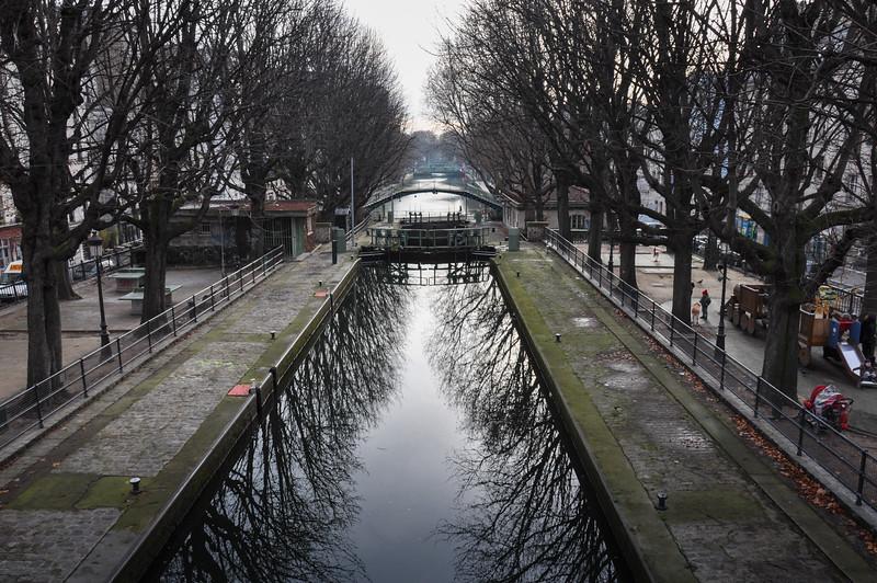 Saint-Martin Canals, Paris, France