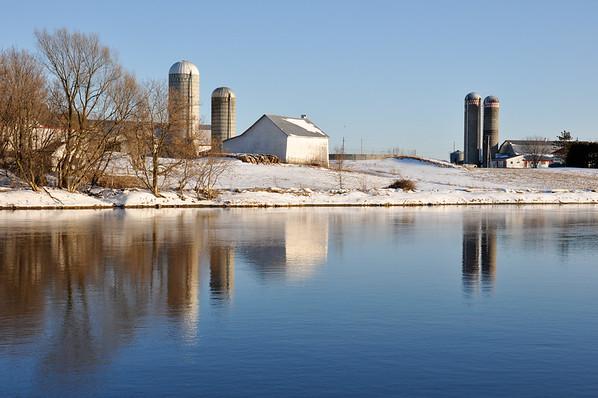 St-Henry de Lévis, Etchemin river, Quebec, Canada