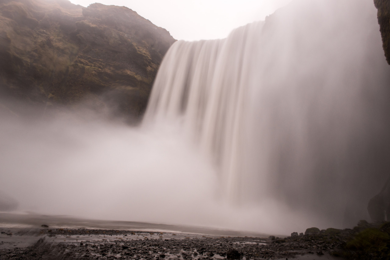 Skogarfoss, Iceland Winter
