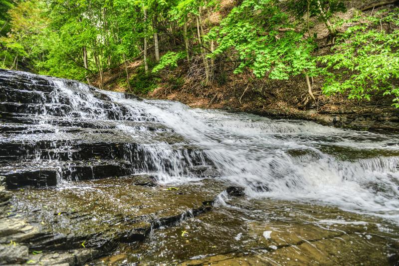 Cascadilla Falls, Finger Lakes, NY