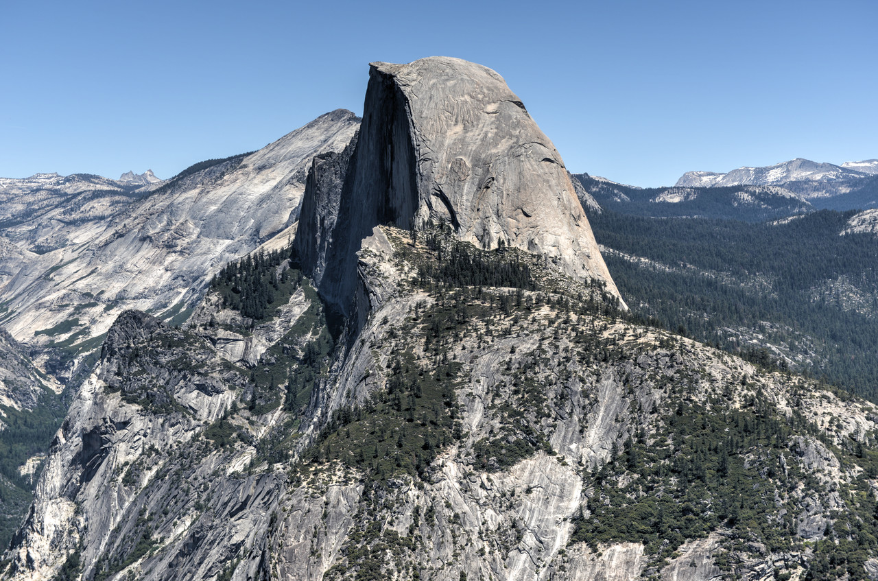 Half Dome of Yosemite Valley