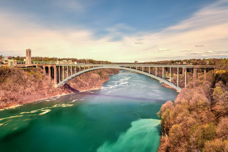 Rainbow Bridge - Niagara Falls, New York