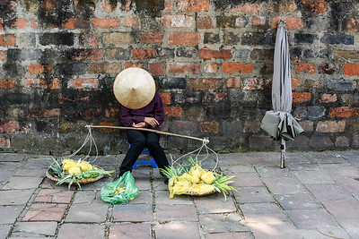 Tired in Hanoi, Vietnam
