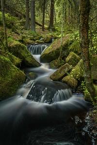 English Peak District creek