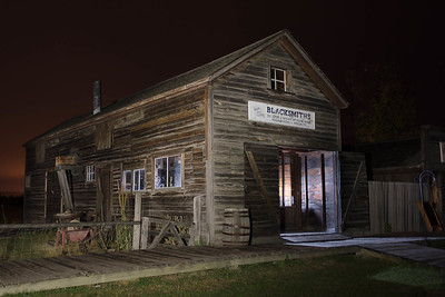 Blacksmith's Shop, Fort Steele, BC