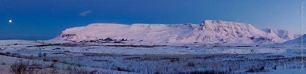 Mount Esja at Dawn