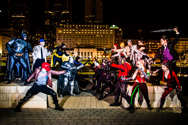 Batman Universe  Photoshoot 2015