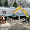 Construction site of the Eitel City Apartments at the historic Eitel Hospital site adjacent to Loring Park.