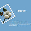 Cotton is a pliable fiber that by itself is weak and easily controlled by moisture. Yet when woven into a textile, can seem almost indestructible. Marriage over time, allows you to become one with your spouse. This creates a unit that is impossible to separate and can easily endure what is thrown at it.