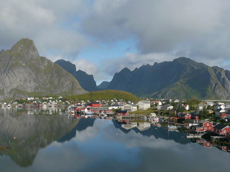 Velotour Lofoten-Vesterålen-Narvik  / @RobAng 2012  / Reine, Reine, Nordland, Lofoten, NOR, Norwegen, 21 m ü/M, 09/09/2012 11:30:40