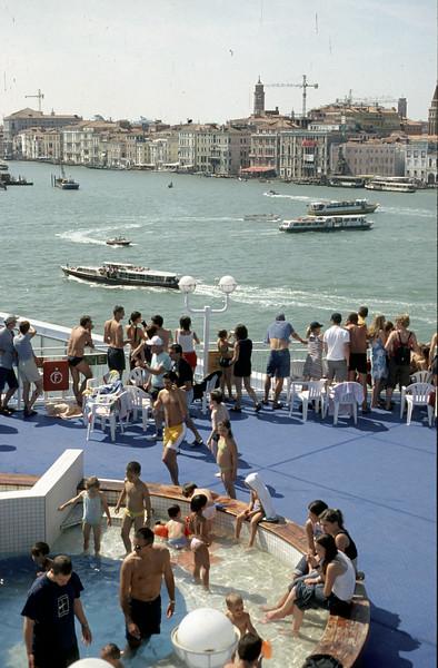@RobAng 2003, Nord-Griechenland per Velo - Anreise (Venedig-Igoumenitsa by ferry)