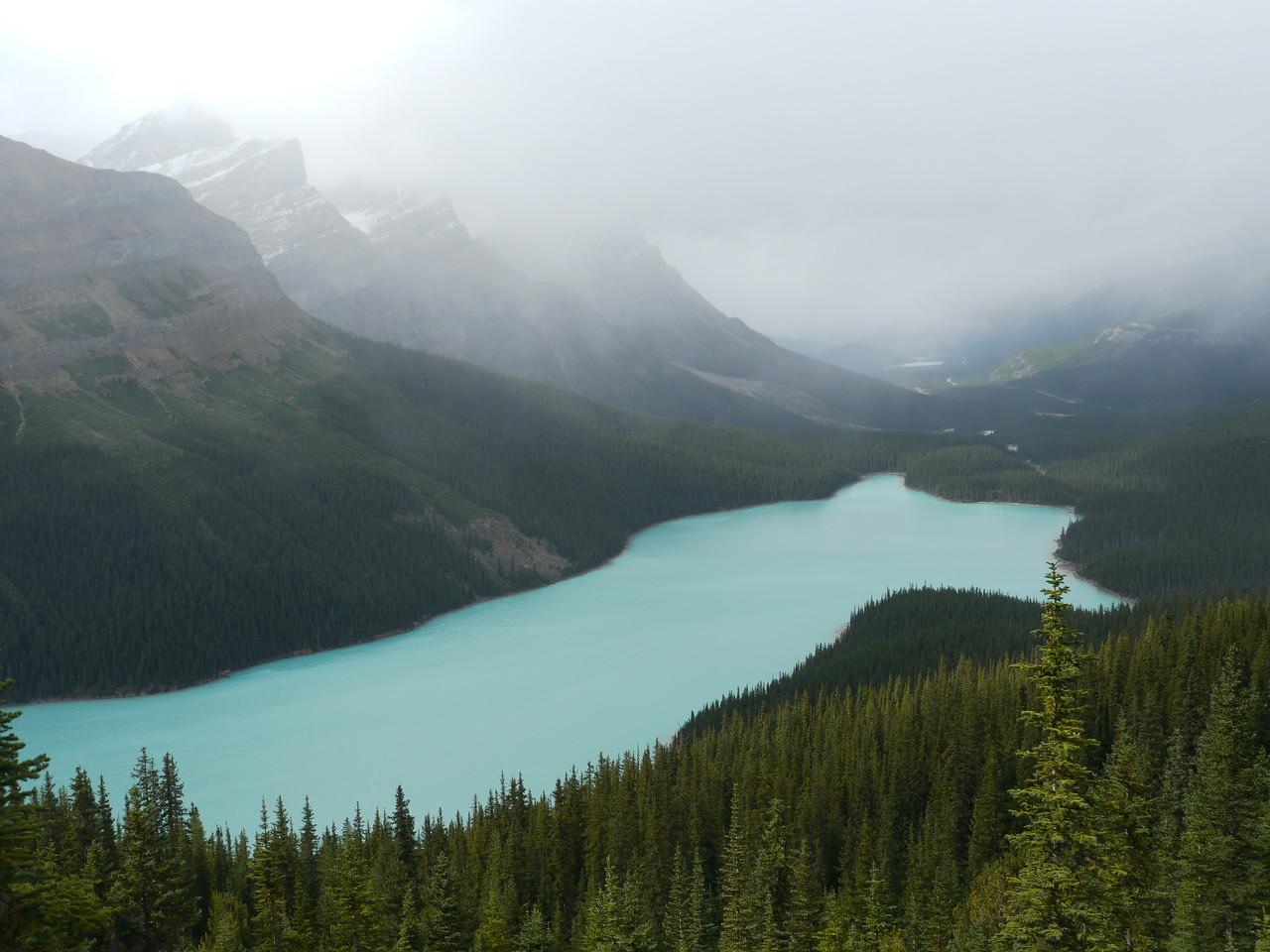 © RobAng 2009, Payto Lake (Bow Pass), Banff-/Jasper National Park - Icefields Parkway, 811 m.ü.M., Alberta, Kanada