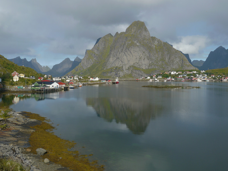 Velotour Lofoten-Vesterålen-Narvik  / @RobAng 2012  / Reine, Reine, Nordland, Lofoten, NOR, Norwegen, 9 m ü/M, 09/09/2012 12:12:11