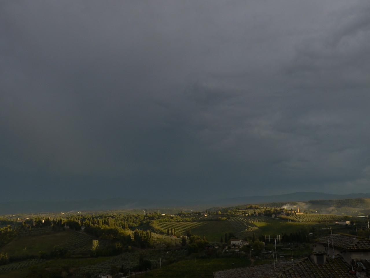 @RobAng 19.09.17, 17:47: Monteoliveto, 286 m, San Gimignano, Toscana, Italien (ITA)