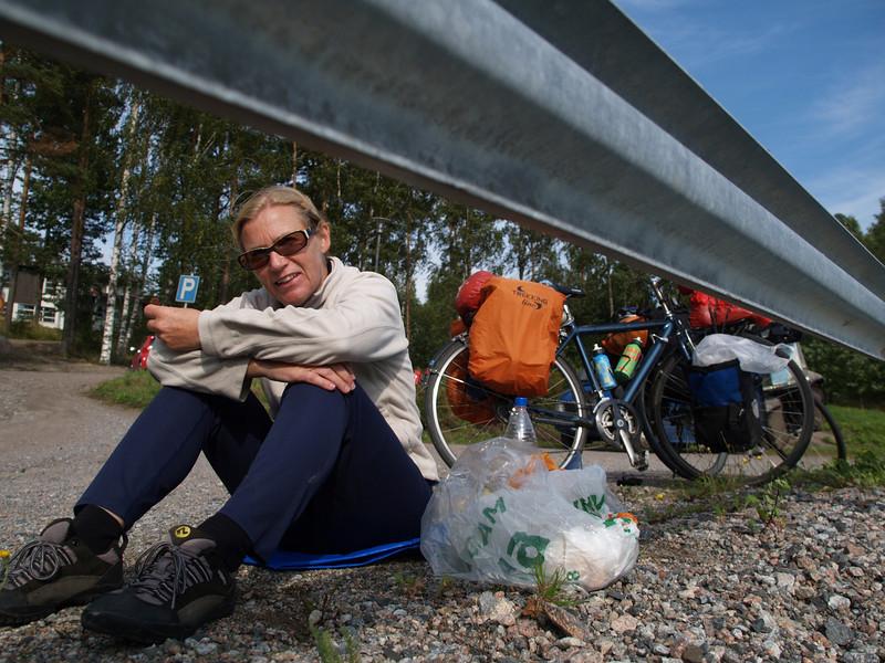 Etappe Lovisa - Helsinki (Finnland) / Winterthur-St.Peterburg-Winterthur by bicycle / © Rob Tani, 5.9.08