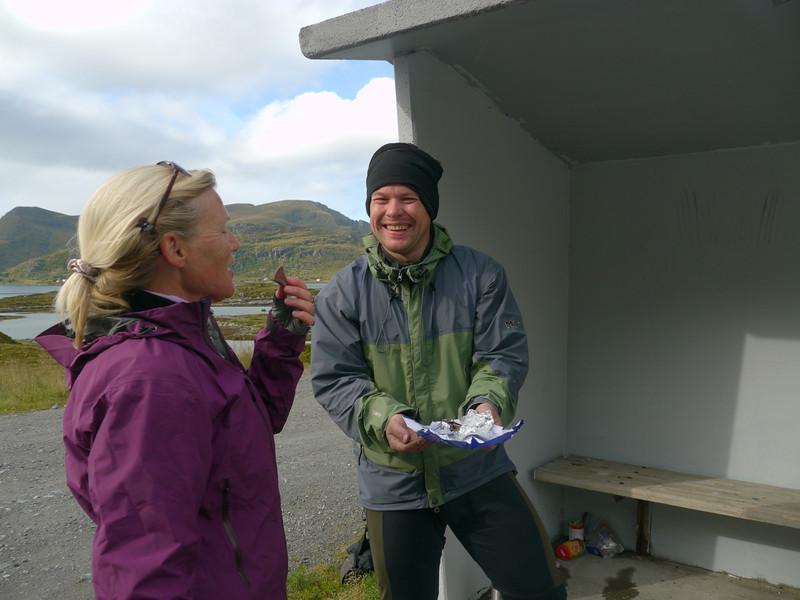 Velotour Lofoten-Vesterålen-Narvik  / @RobAng 2012  / Hovdan, Ramberg, Nordland, Lofoten, NOR, Norwegen, 17.5247 m ü/M, 09/09/2012 13:52:43