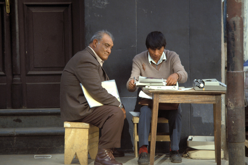 Bolivien 1988 / ©RobAng