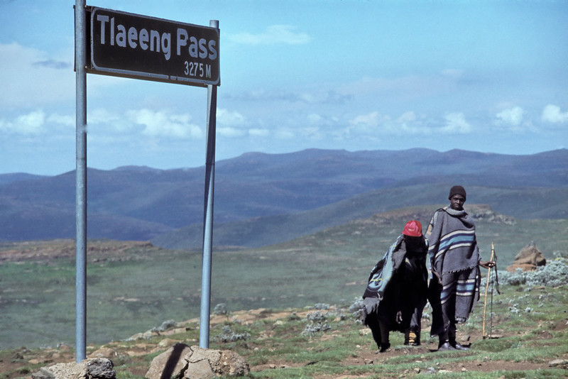 "Lesotho 1985, ©RobAng - ""the mountain-kingdom"""