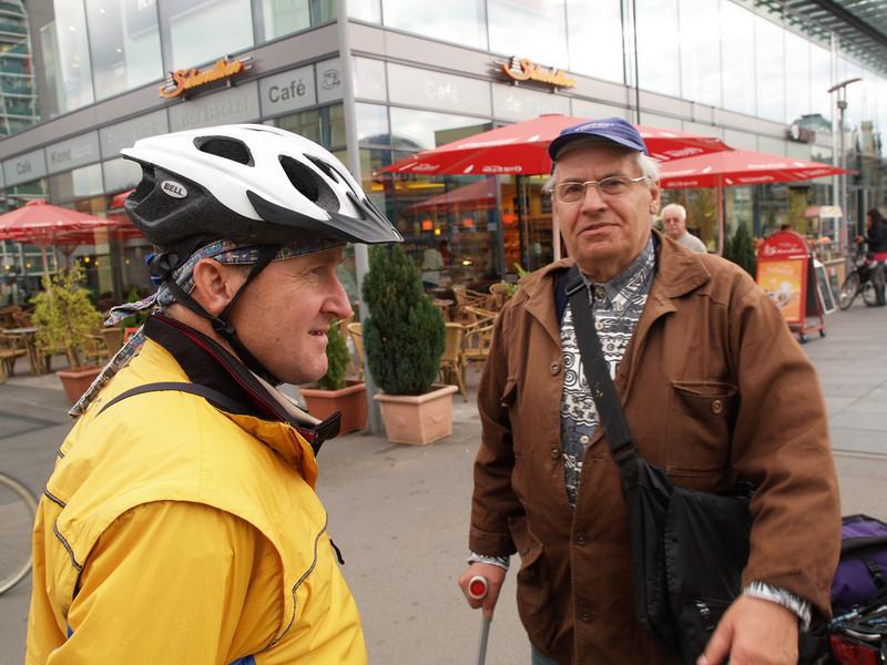 Winterthur-St. Petersburg-Winterthur by bicycle - on the way home // begleitet von den AmiciDiBici von Berlin via Dresden nach Prag / Etappe Dresden - Schmilka (Deutschland - Germany)