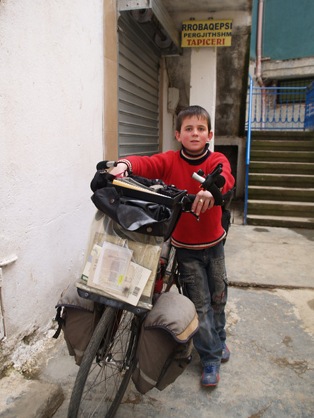 Albanien (Albania) by bicycle / © Rob Tani, Jan. 2008 / Burell