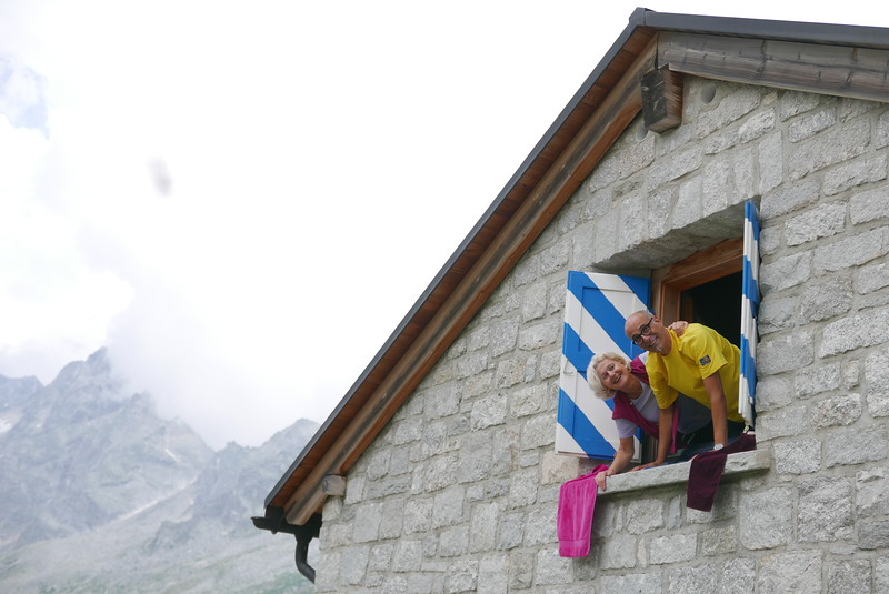 @RobAng 29.07.17, 18:32: Albigna Hütte SAC, 2325 m, Vicosoprano, Kanton Graubünden, Schweiz (CHE)