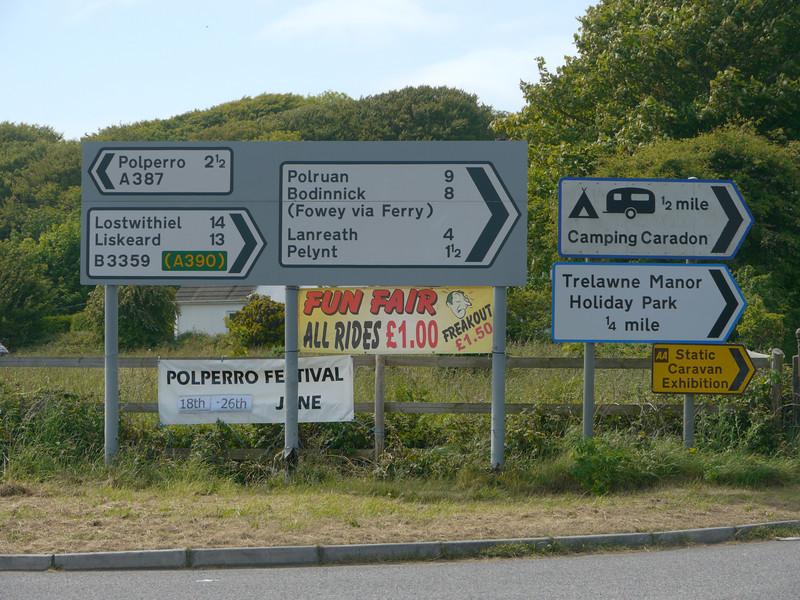 © RobAng 2011, Velotour GB (Dorset-Devon-Cornwall), Cornwall, Talland, Pelynt, 134 m