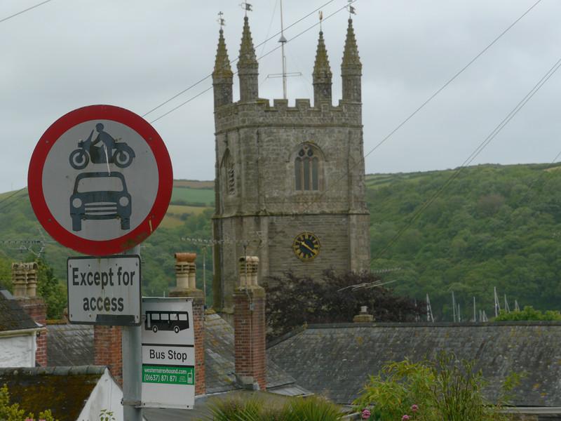 © RobAng 2011, Velotour GB (Dorset-Devon-Cornwall), Cornwall, Fowey, Fowey, 35 m