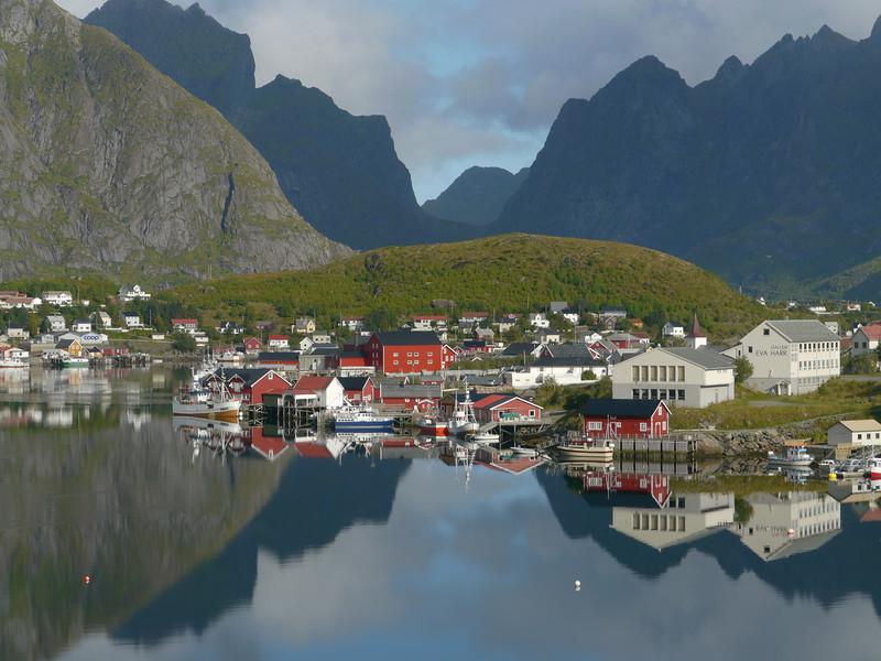 Velotour Lofoten-Vesterålen-Narvik  / @RobAng 2012  / Reine, Reine, Nordland, Lofoten, NOR, Norwegen, 21 m ü/M, 09/09/2012 11:28:10