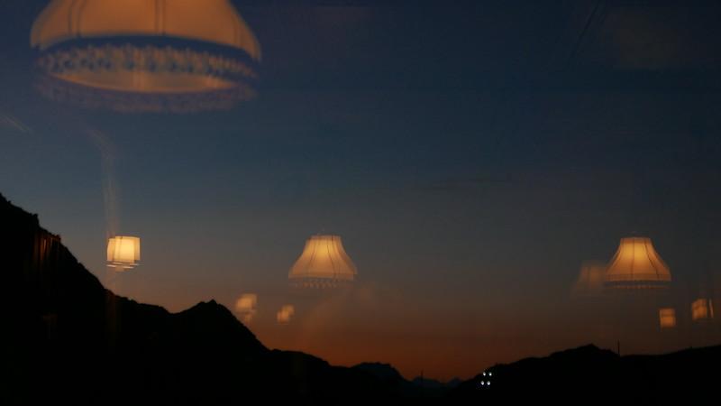 @RobAng 19.10.18, 18:59: Flüela Passhöhe, 2382 m, Schürlialp, Kanton Graubünden, Schweiz (CHE)