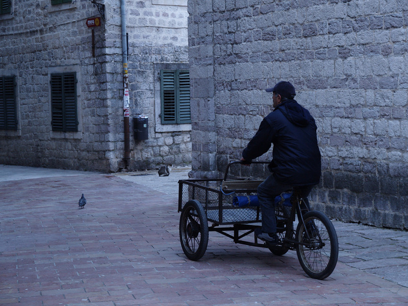 Montenegro (MNE) by bicycle / © Rob Tani, Jan. 2008 / Kotor