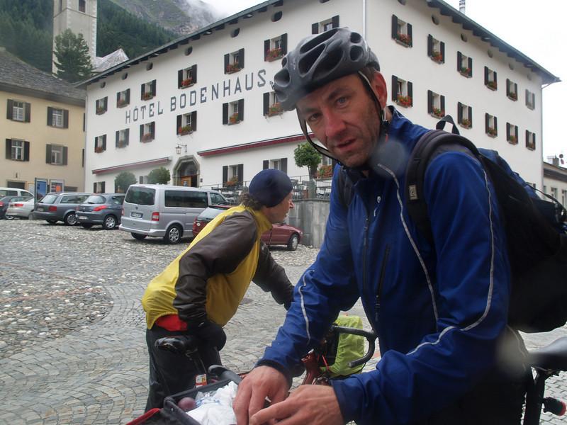 Aug. 09: Chiavenna (325m) - Splügenpass (2115m) per Velo