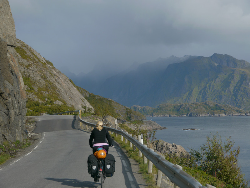 Velotour Lofoten-Vesterålen-Narvik  / @RobAng 2012  / Hamnøy, Reine, Nordland, Lofoten, NOR, Norwegen, 24 m ü/M, 09/09/2012 12:59:11