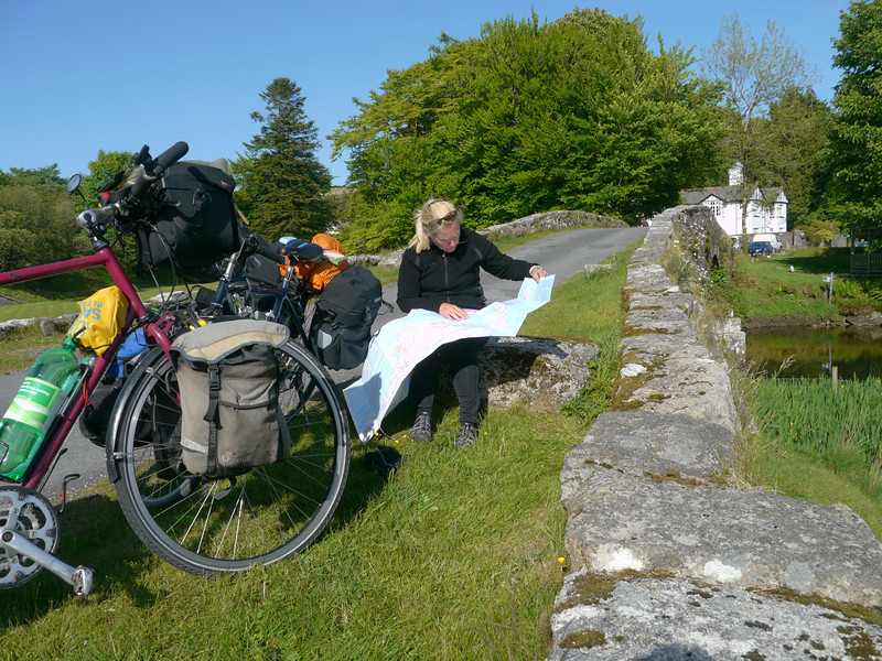 © RobAng 2011, Velotour GB (Dorset-Devon-Cornwall), Devon, Two Bridges, Dartmoor Forest, 340 m