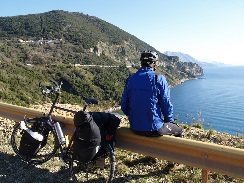 Montenegro (MNE) by bicycle / © Rob Tani, Jan. 2008