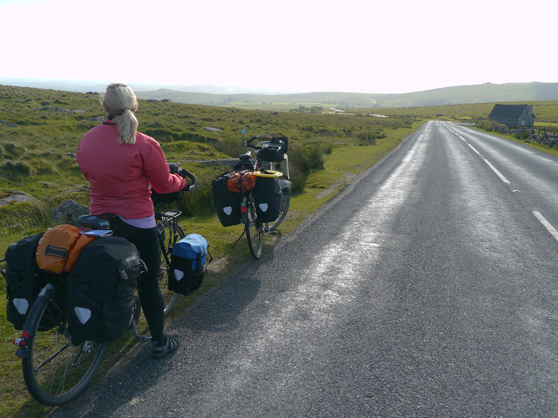 © RobAng 2011, Velotour GB (Dorset-Devon-Cornwall), Devon, North Hessary Tor, Dartmoor Forest, 430 m