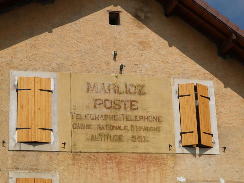 Ostern 09 - per Velo rund um den Genfersee und via Bonneville nach Annecy / Aufnahmeort  Marlioz (527.8 m), Marlioz, Frankreich /  ©  Rob Tani