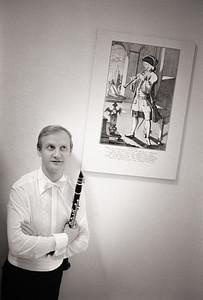 Kjell-Inge Stevensson, principal clarinet
