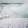 NIAGARA IN WINTER by JOHN BROOKS