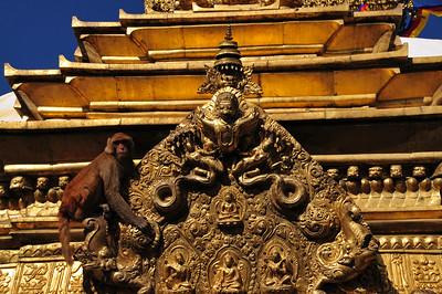 Swayambhu aka Monkey Temple in Kathmandu
