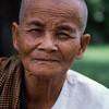 A proud face. Local nunnery, Angkor Wat, Cambodia.