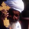 Old priest. Older religion. Ethiopia.