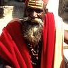 Long in beard and tooth. Kathmandu, Nepal.