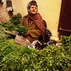 This mint seller in Fez, Morocco, has likely been selling her locally grown produce for as long as she can remember!