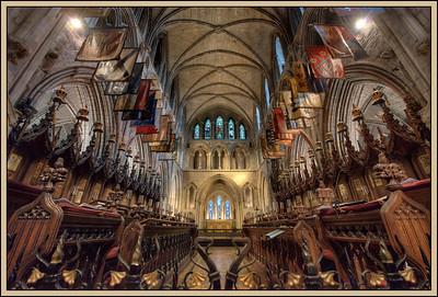 Christ Church, Dublin, Ireland.