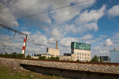 Swell architecture, somewhere in Estonia.