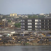 Across intra coastal waterway, Abidjan, Ivory Coast.