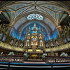 Notre Dame Cathedral, Montreal, Quebec, Canada - HDR.
