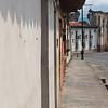 Street in Antigua, Guatemala.